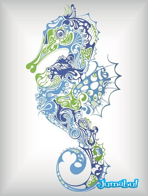 caballito-de-mar-tatuaje-tatoo-tribales