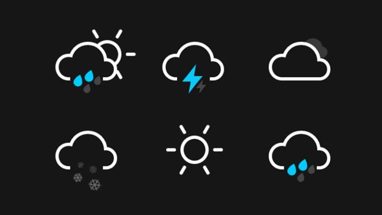 clima iconos animados css - Íconos del Clima Animados con CSS3