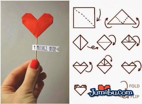 corazon-de-papel-manualidades