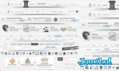 elementos web vectorizados - Elementos Web Vectorizados