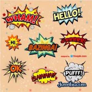 exclamaciones-comic-vector