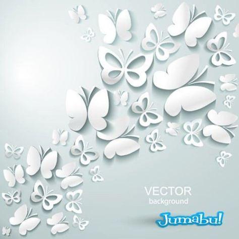 flores-realizados-en-papel-vectores-3d