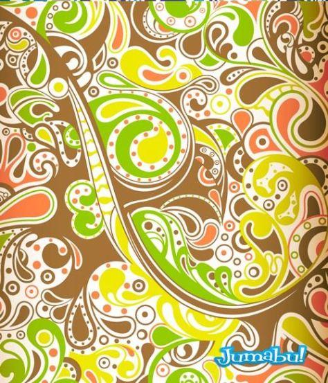 ornamental-background-vectorizado