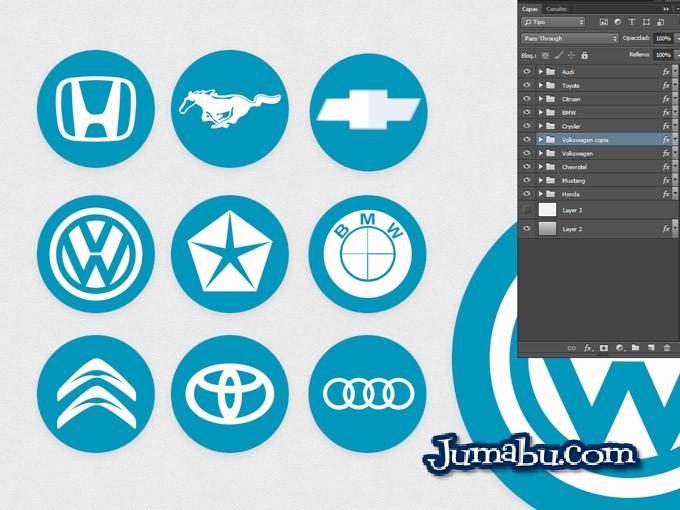 logos-automoviles-marcas-plano-estilo