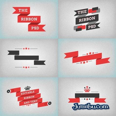 ribbons-planos-vectorizados