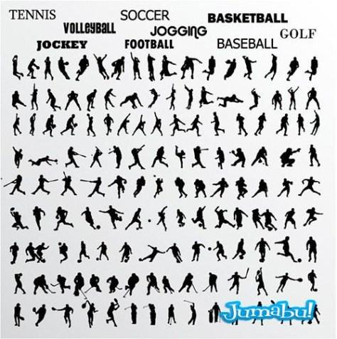 siluetas-personas-haciendo-deporte-vectores
