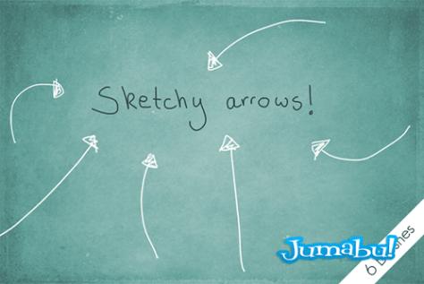 sketchy_arrows__by_byjanam-d58hnig