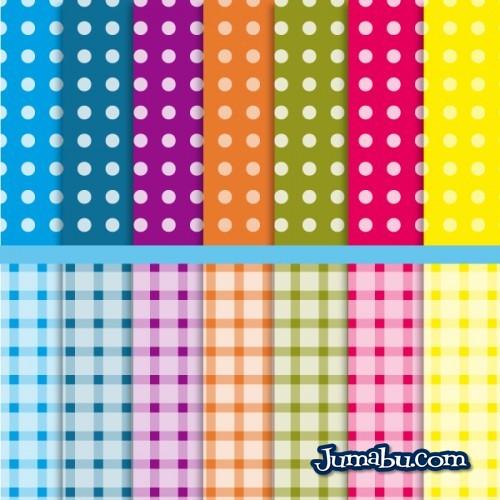 textura-lunares-cuadros-pattern