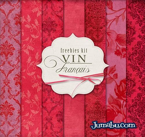 texturas-florales-rojas