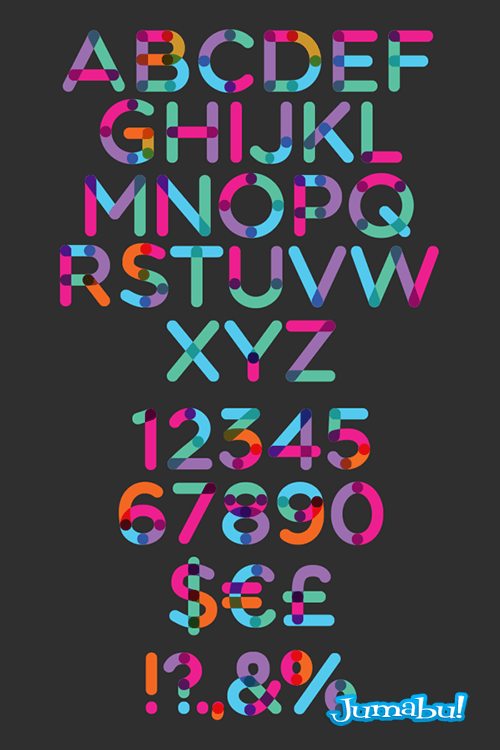 tipografias-multicolor