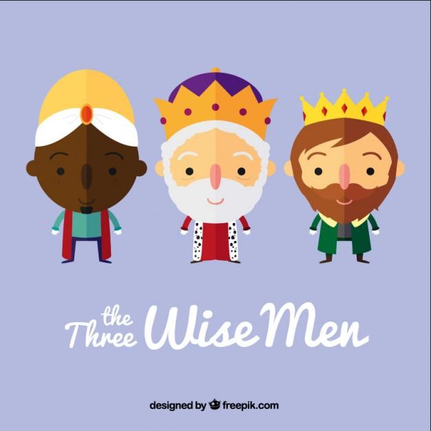 tres-reyes-magos-vectores