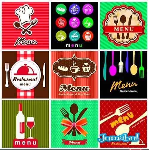 vectores-restaurant-vintage