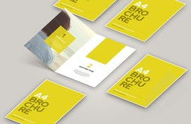 800x518 Open Brochure Mockup Preview 1 - Mock Up en Photoshop para crear un Brochure A4