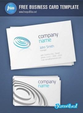 Business Card Template Preview Big 500x6802 - Tarjetas Personales en PSD