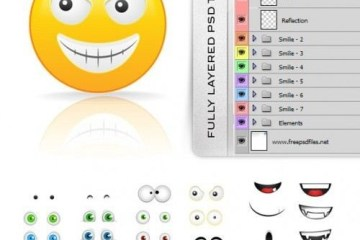 Fully Layered Smilies Creation Kit 500x5942 - Crea tu Propio Smail o Emoticon con Photoshop