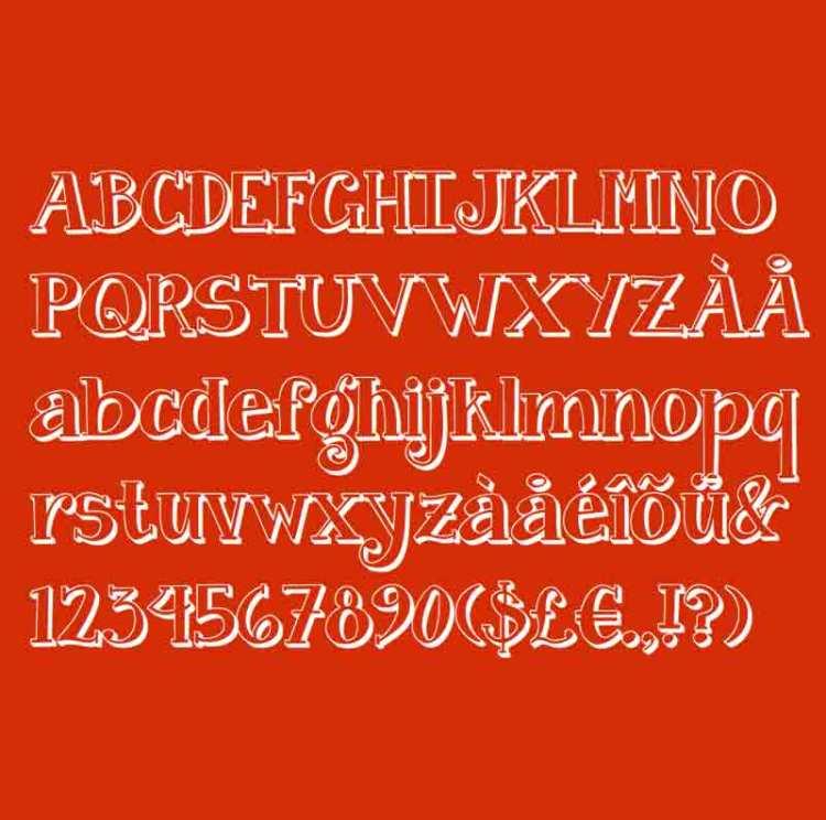 Janda Curlygirl tipografia - Tipografía gratis Janda Curlygirl