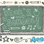 School hand draw 6 - Elementos para Comienzo de Clases