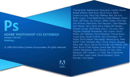 adobe photoshop cs5 pantalla 2010 - La evolución de Adobe Photoshop año tras año