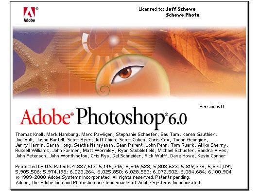 adobe photoshop pantalla 2000 - La evolución de Adobe Photoshop año tras año