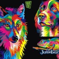 Excelentes Ilustraciones de Animales en Vectores Super Coloridos