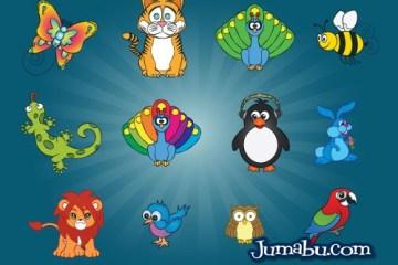 animales vectorizados - Animales Dibujados en Vectores