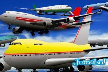 aviones vectoriales - Aviones Vectorizados