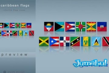 caribe-caribean-flags