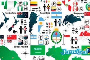 argentina-mapas-iconos-vectores-banderas