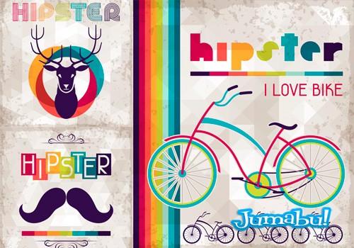bicicletas-coloridas-vectores