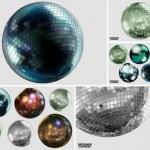 bolas espejos descargar gratis - Descarga Bolas de Espejos Disco en PNG