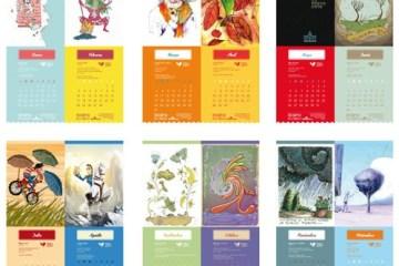 calendario 2014 para colgar muestra - Calendario 2014 para Descargar e Imprimir