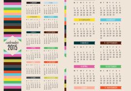 calendario 2015 - Calendario 2015 para Imprimir