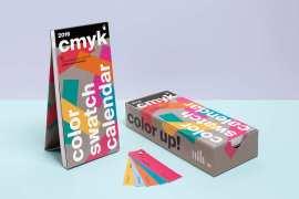 calendario 2016 cmyk - Calendario 2016 para Estudios de Diseño Gráfico o Imprentas