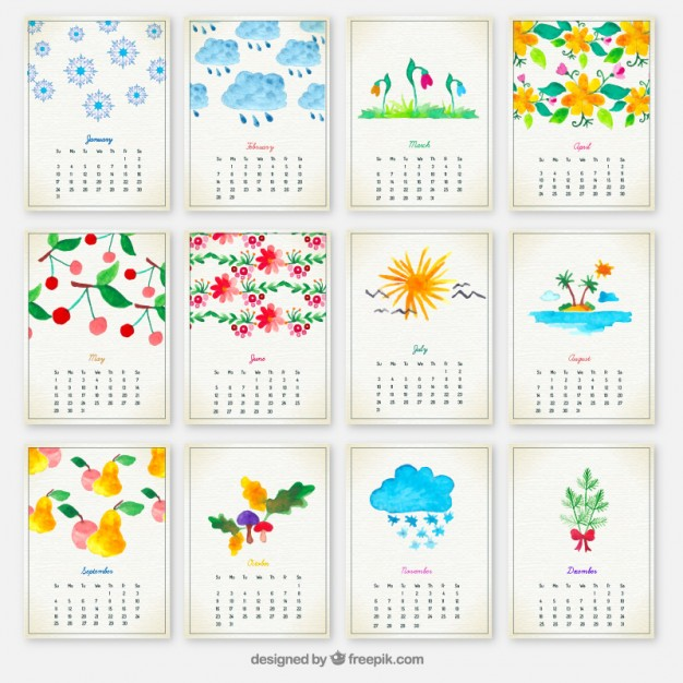 calendario-2016-dibujitos-pintados