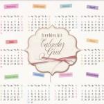 calendario 2016 png1 - Calendario 2016 en PNG  para Descargar
