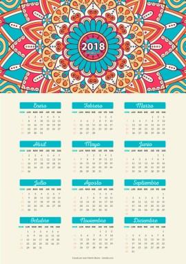 calendario 2018 gratis - Calendario 2018 para imprimir gratis