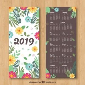 calendario 2019 en espanol - Calendario 2019 para imprimir gratis