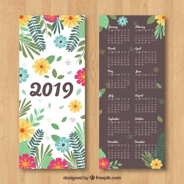 Calendario 2019 Para Imprimir Gratis Jumabu