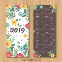 Calendario 2019 para imprimir gratis