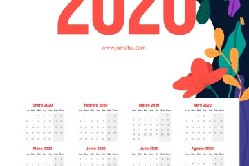 calendario 2020 imprimir - Calendario 2020 gratis para descargar