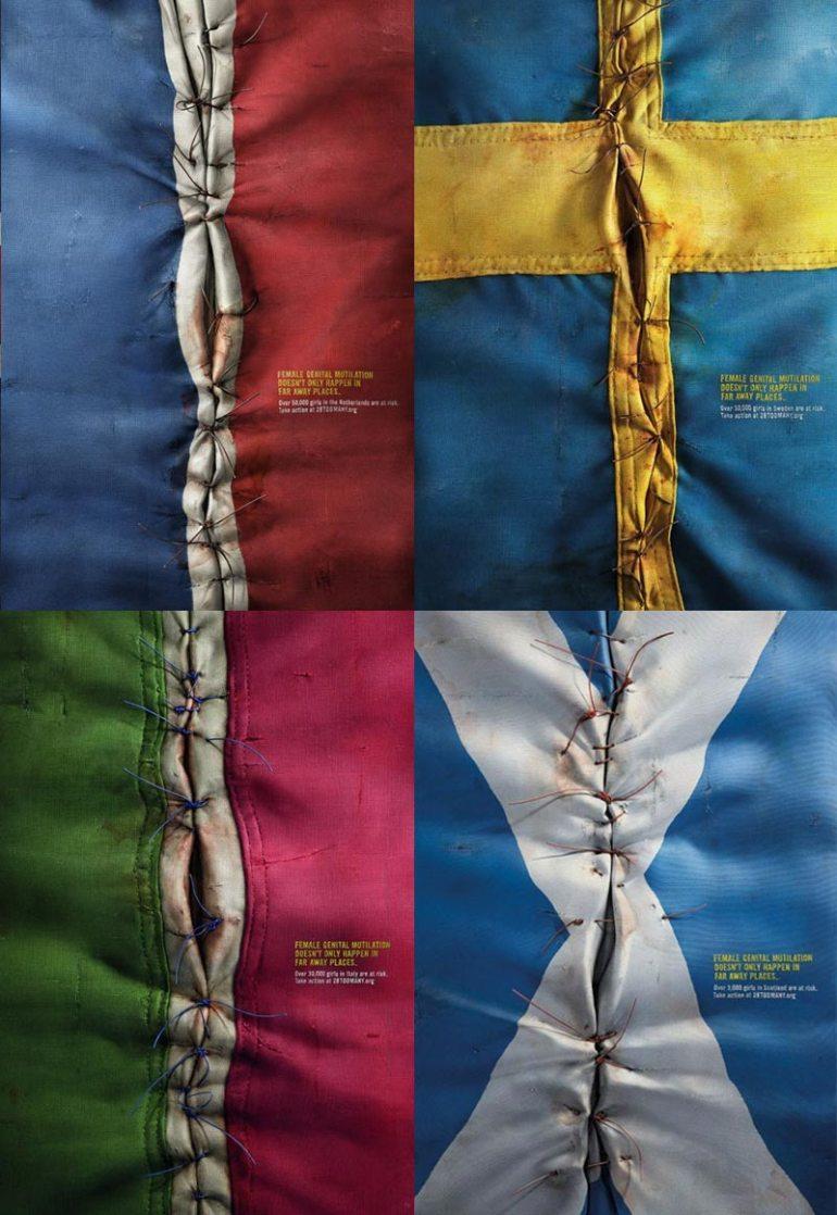 campana mutilacion genital femenina - Campaña contra la mutilación genital femenina