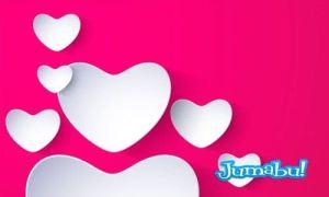 corazones enamorados vectores - Corazones para San Valentin Day