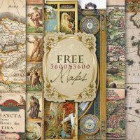 Imágenes gratuitas de mapas antiguos