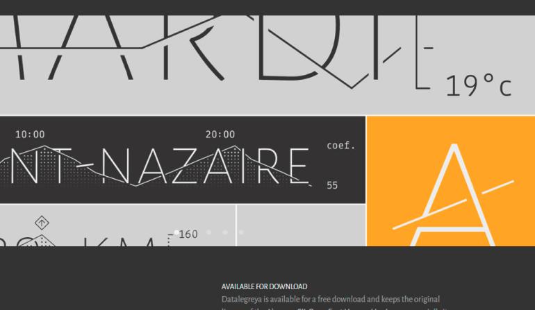 datalegreya tipografia estadisticos - Descarga esta tipografía ideal para gráficos estadísticos