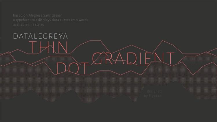 datalegreya - Descarga esta tipografía ideal para gráficos estadísticos