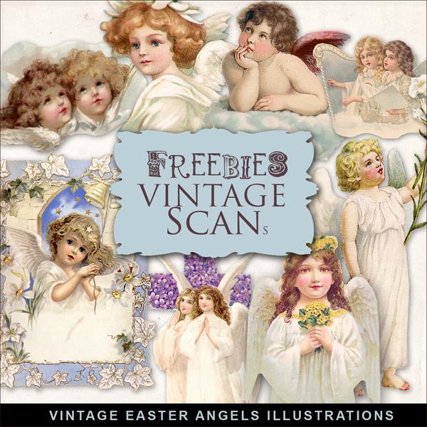 Fondos de angeles vintage