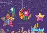 dibujos estrellas vectors - Noche de Fantasía en Vectores