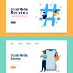diseno de landing page servicio social media - Diseño de Landing Page para Social Media