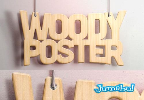efecto-letras-tipografias-photoshop-madera
