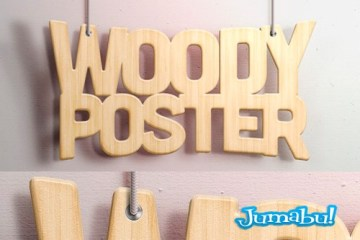 efecto letras tipografias photoshop madera - Efecto Madera sobre Tipografías en Photoshop